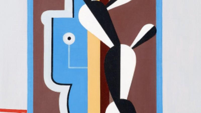 Esaias Thorén, Komposition med kaktus, 1930