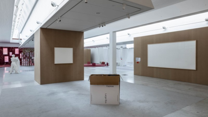 work it out installation view