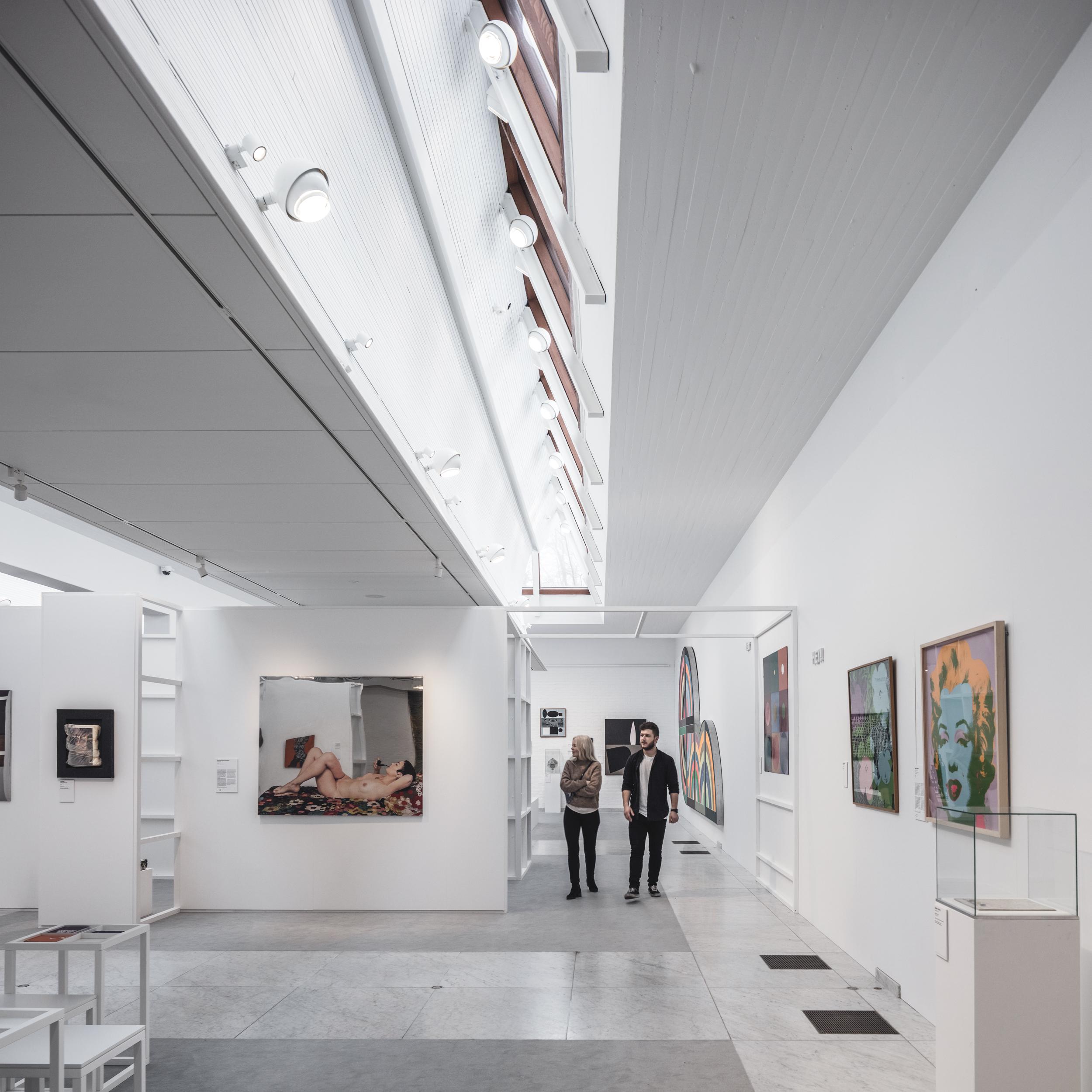 The Sky-lit Galleries   Kunsten
